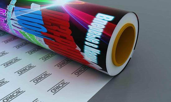 Прозрачная пленка с печатным рисунком